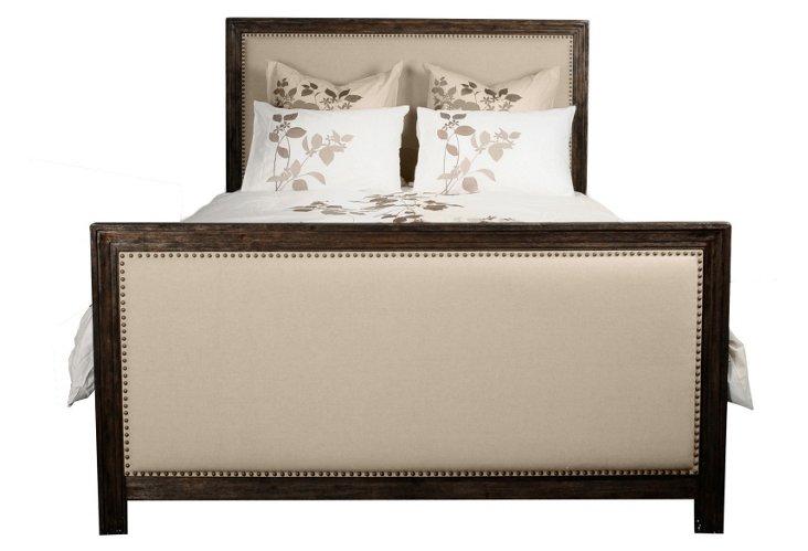 Gracie Upholstered Bed, Java