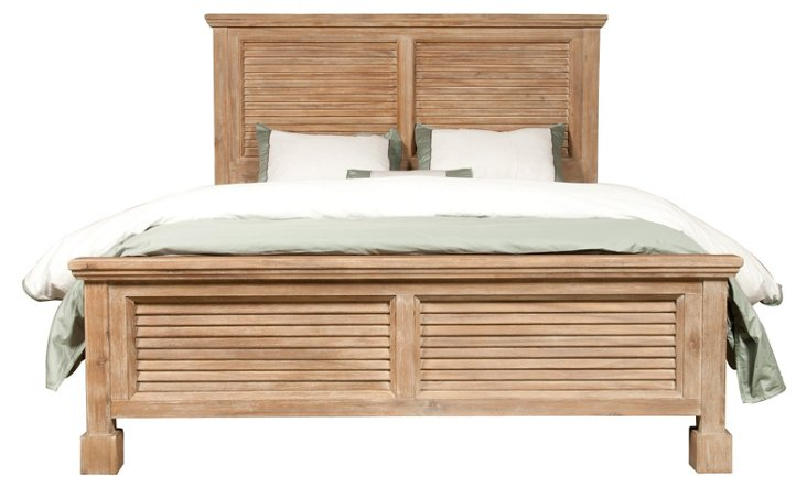 Gracie Shutter Bed, Cal King
