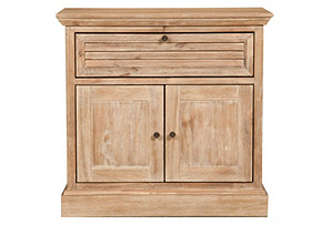 Janie Nightstand, Weathered Sand*