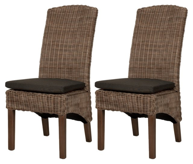 Milly Dining Chair, Pair