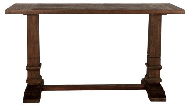 Moore Console Table, Mahogany