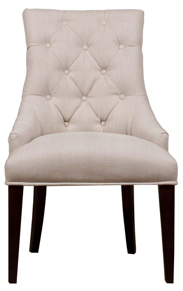 Chloe Dining Chair, Oatmeal