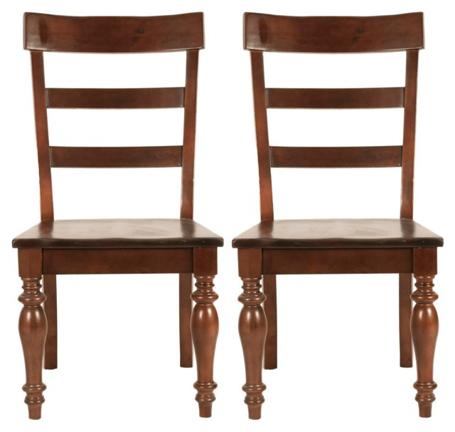 DNU,DiscBilson Dining Chair, Pair