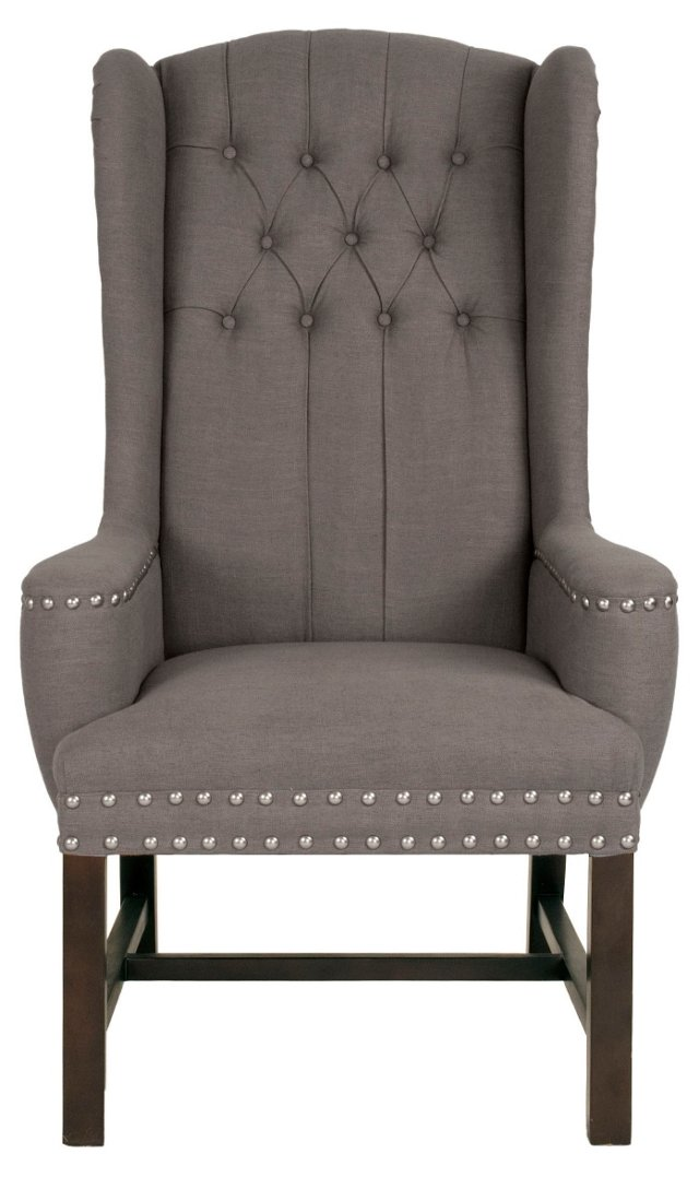 Wesley Dining  Armchair, Dove