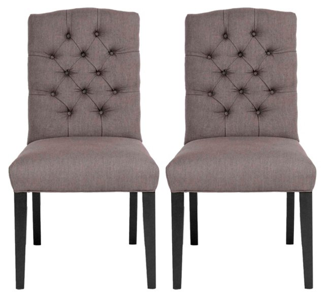 Serena Dining Chair, Pair