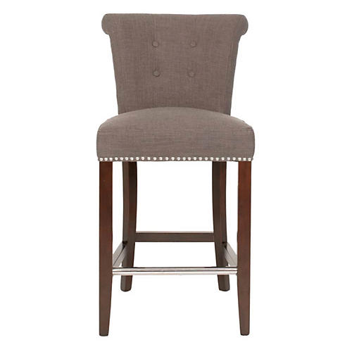 Luxe Counter Stool, Sepia
