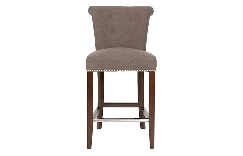 Willoughby Counter Stool, Sepia
