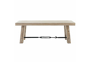 """Patchin 50"""" Industrial Dining Bench*"""