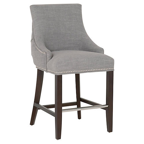 Sydney Counter Stool, Gray