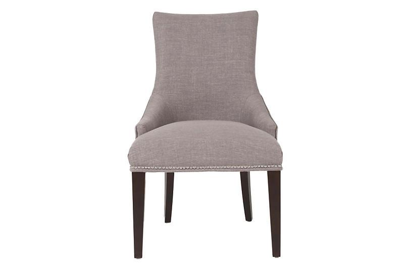 Avenue Side Chair, Smoke