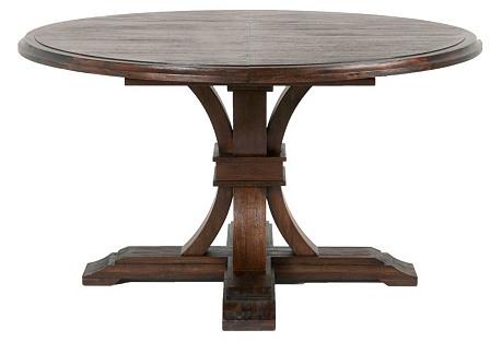 Bijou Extension Table, Rustic Java