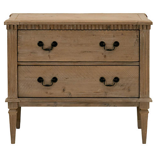 "Rae 35"" Dresser, Smoke Gray"