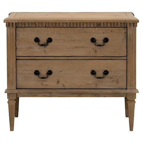 Rhone Dresser, Smoke Gray
