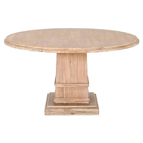 Willis Dining Table, Stonewash