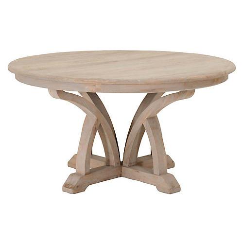 Hummer Dining Table, Natural