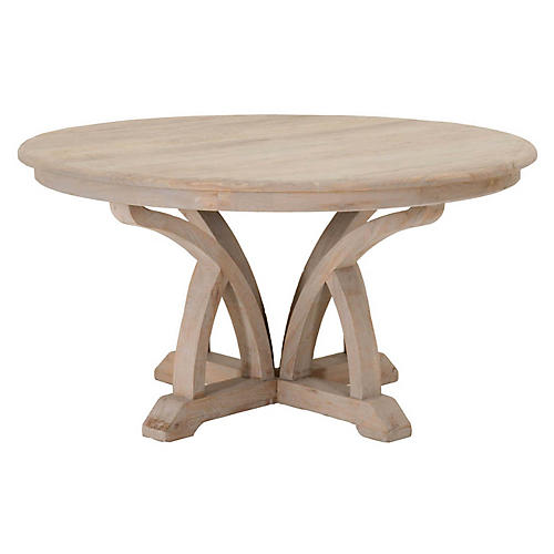 Hummer Dining Table, Natural