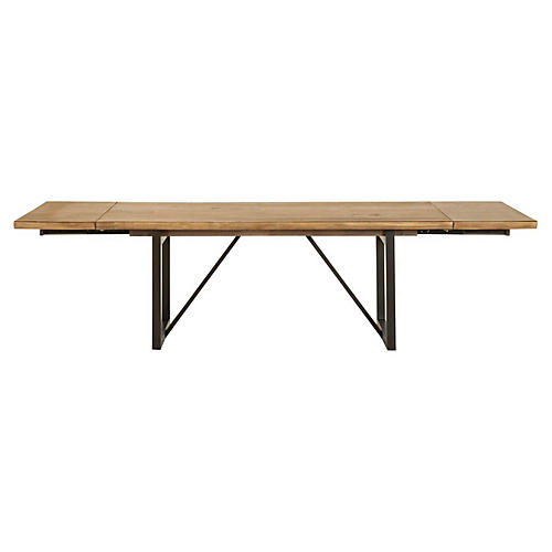 Origin Extension Dining Table, Timber