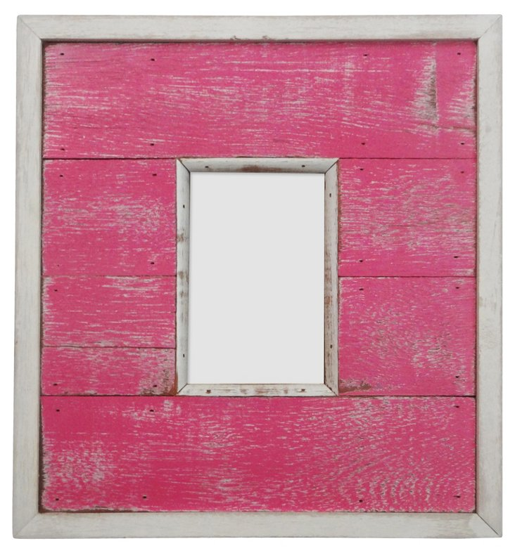 Portsmouth Frame, 4x6, Bright Pink
