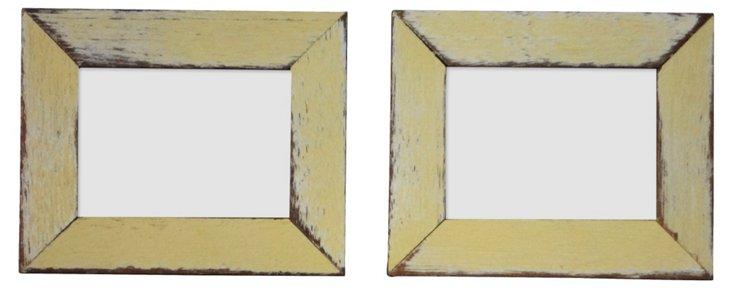 S/2 Corolla Frames, 2x3, Yellow