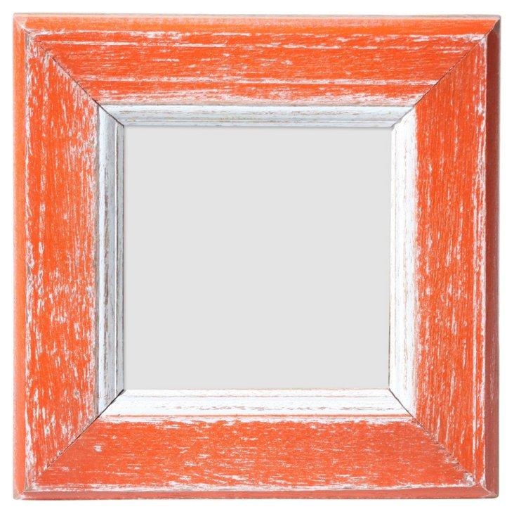 Langley Frame, 4x4, Orange