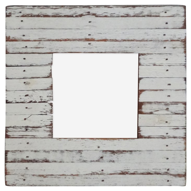 Watch Hill Frame, 3x3, White