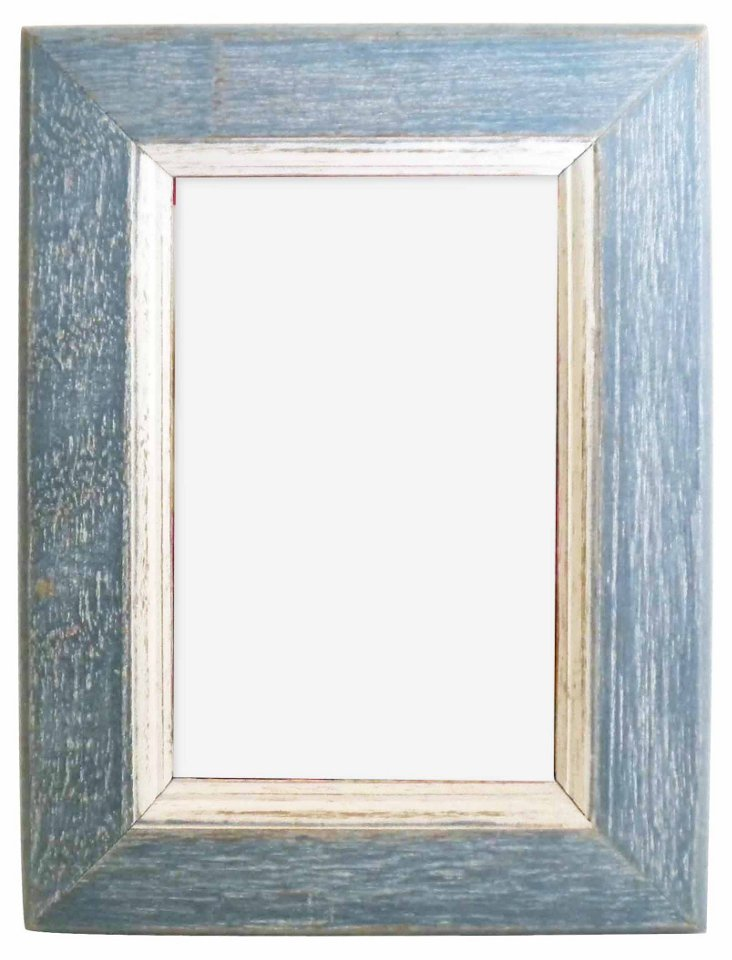 Watch Hill Frame, 5x7, Slate Blue