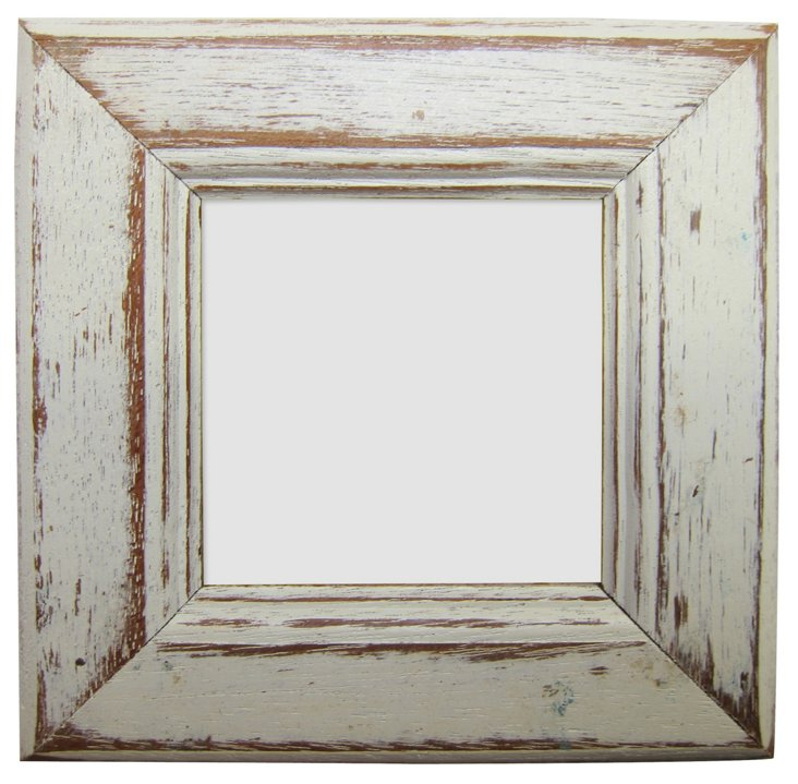 Birch Bay Frame, 3x3, White