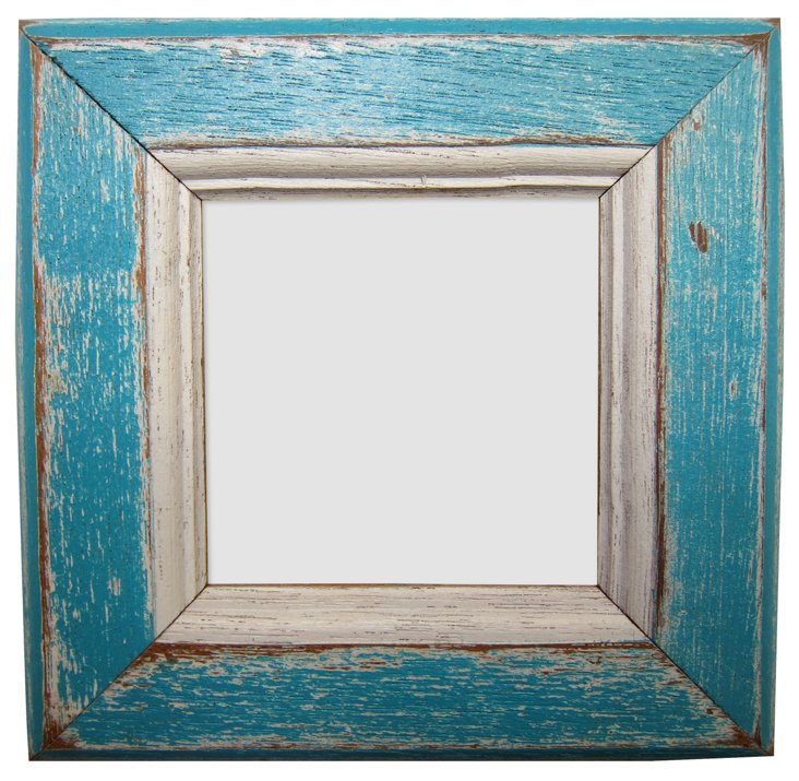 Birch Bay Frame, 3x3, Turquoise