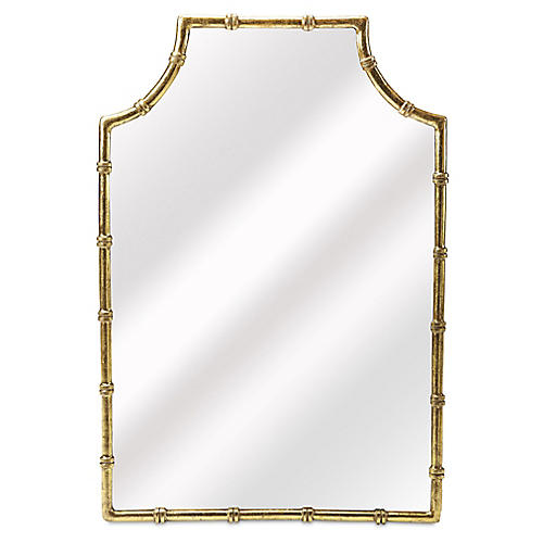 Leora Wall Mirror, Gold