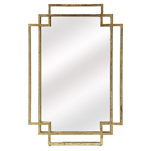 Beryl Wall Mirror, Gold