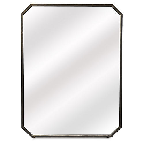 Luca Wall Mirror, Bronze