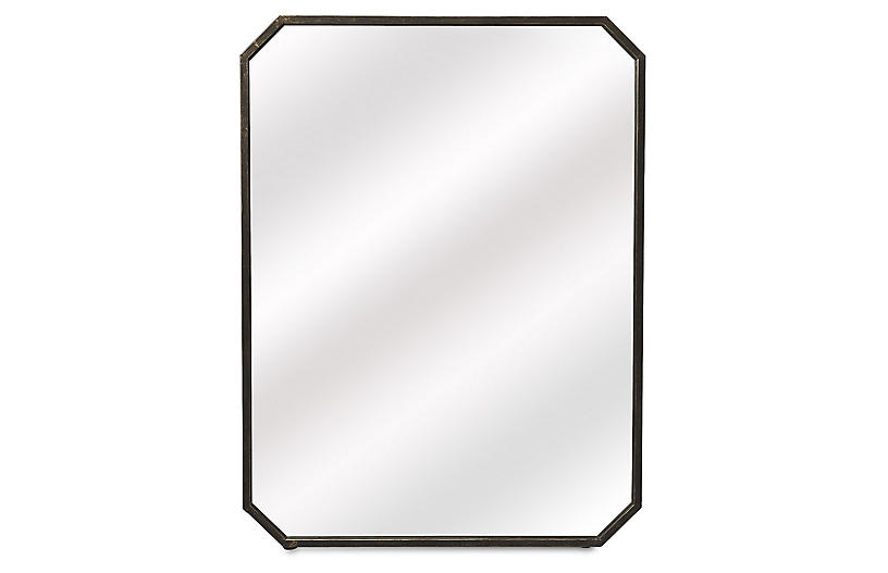 Luca Wall Mirror, Bronze