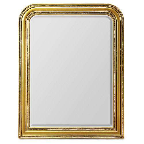 Bethany Wall Mirror, Gold