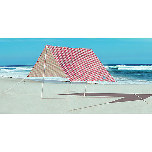 Bondi Beach Tent, Red/White
