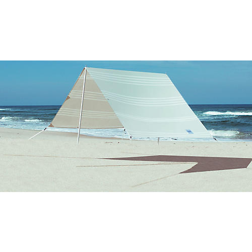 South Beach Beach Tent, Oat/White