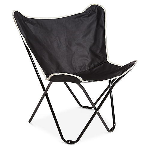 Santa Cruz Beach Chair, Black