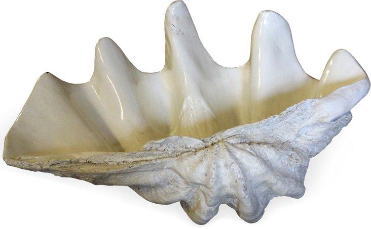 White Fiberglass Shell