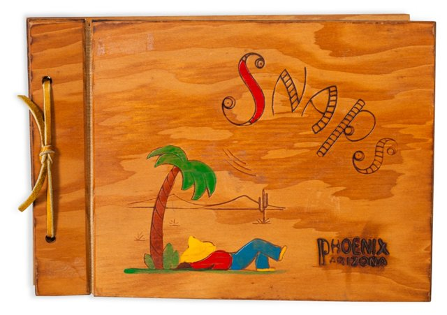 Phoenix Small Wood Photo Book