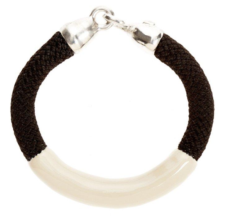 Annabelle Bracelet, Black/Beige