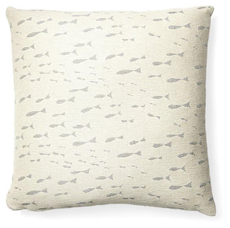 Minnow Pillow, Silver