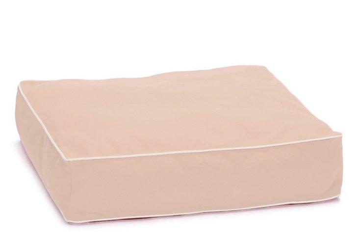 Benny Basic Square Bed, Blush