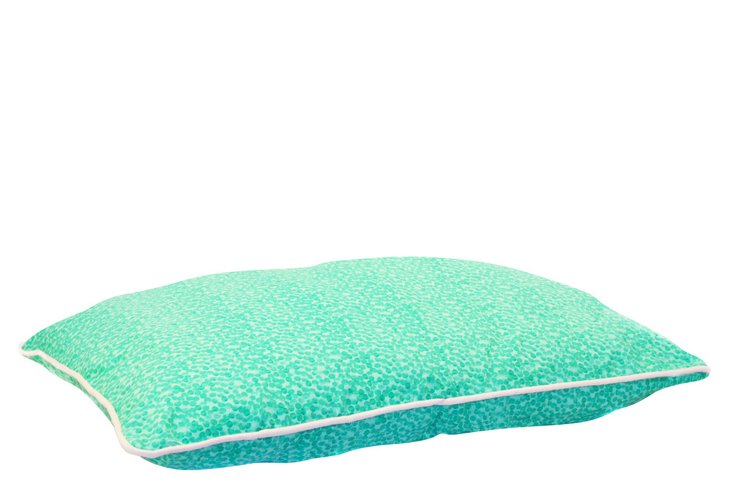 Small Spotty Dotty Pillow Bed, Mint