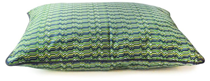 Wave Pillow Bed, Green