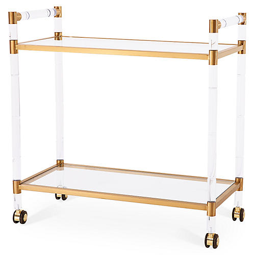 Bronson Bar Trolley, Gold