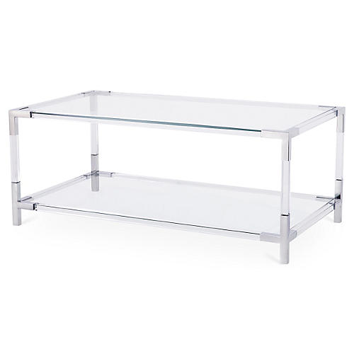 Havenhurst Coffee Table, Silver