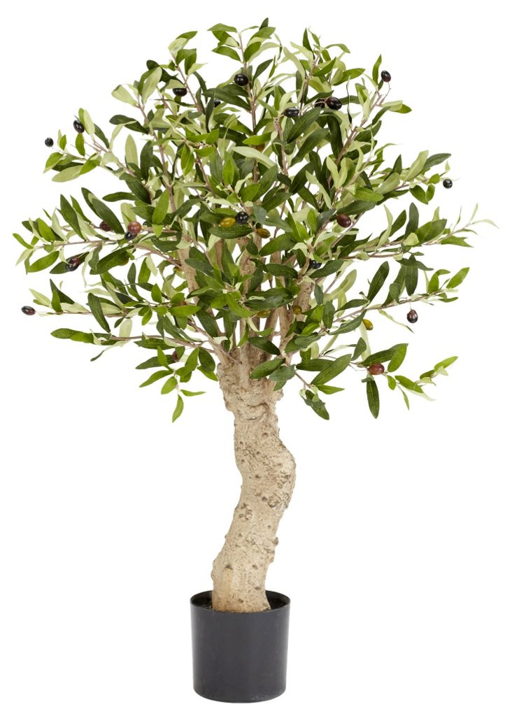 2' Olive & Berry Tree, Faux
