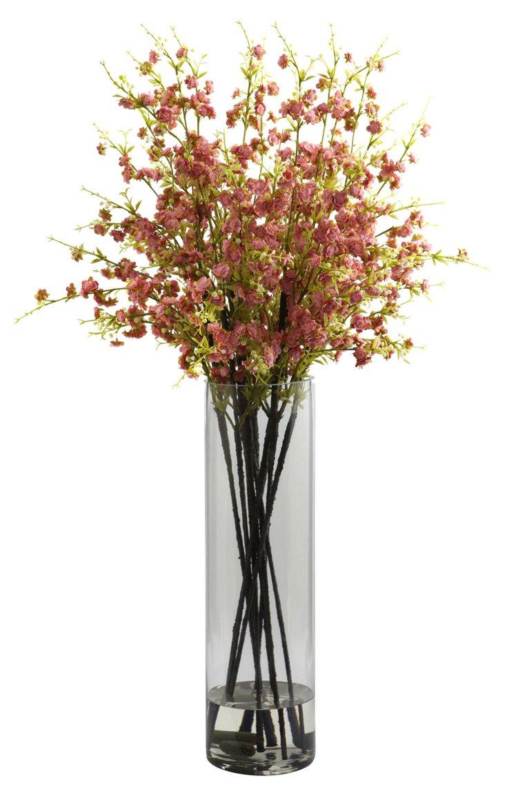 """38"""" Cherry Blossom Arrangement, Faux"""