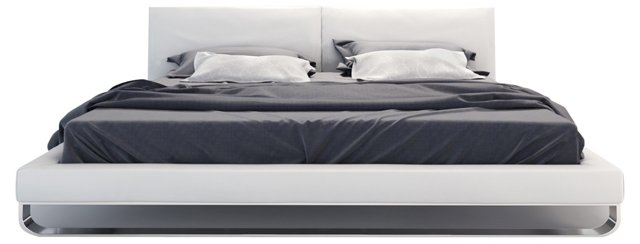 Chelsea Bed, White