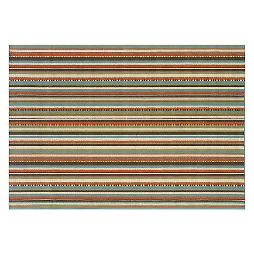 Omalo Outdoor Rug, Multi
