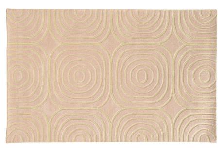 Optic 41108 Rug, Pink/Ivory